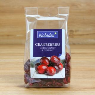 b* Cranberries gesüßt